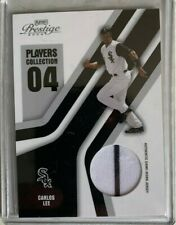 CARLOS LEE Game Used Jersey 2004 Playoff Prestige CHICAGO WHITE SOX