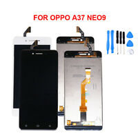 For Oppo A37 LCD Touch Screen Digitizer Assembly Replacement Black White Tools