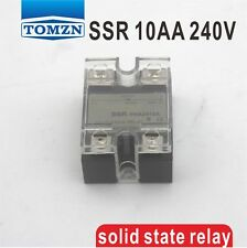 10AA SSR input 90-250V AC load 12-240V AC single phase AC solid state relay