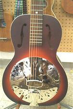 Recording King RPH-R1-TS National Style Resophonic Vintage Sunburst Guitar