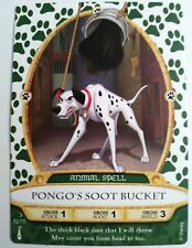 Disney SOTMK Sorcerers of the Magic Kingdom Pongo's Soot Bucket Card #52/70