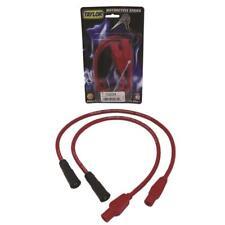 Taylor Spark Plug Wire Set 10333; Spiro Pro 8mm Hot Orange for Harley Davidson