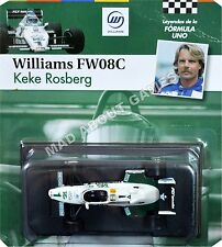WILLIAMS FW08 KEKE ROSBERG #1 1:43 Scale F1 Racing Car Model Formula One