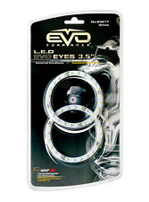 Sumex Xenon Blanco 9cm Coche LED Angel Eye Halo Anillo DRL Luces Bombillas de conducción - 2Pce