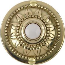 Carlon Polished Brass Wired Push-Button for Door Bell no. DH1650L