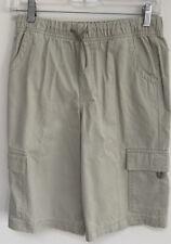 🆕� L.L. Bean Boy's Cargo Shorts Size 16 Summer Camp School Uniform Cotton Twill