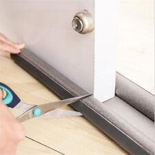 Flexible Door Bottom Sealing Strip Guard Sealer Stopper Noise Wind Dust Blocker