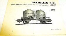 Märklin Manual de instrucciones 4911 68 491 AN 0358 ka # å