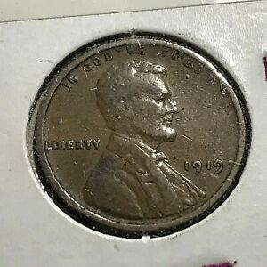 1919 LINCOLN  PENNY BETTER GRADE COIN