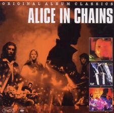ALICE IN CHAINS ORIGINAL CLASSICS CD 3 DISC ROCK BOXSET 2011 NEW