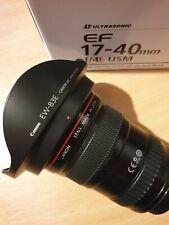 Canon EF 17-40 mm L USM F/4.0 Lentille-Noir