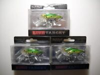 KOPPERS LIVE TARGET BAITBALL Threadfin Shad in Metallic Green color