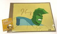 BAM BOX EXCLUSIVE 1-1 ANIMATION SKETCH CEL HAND SIGNED BY JIM CUMMINGS C.O.A