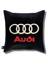 Audi embroidery Print case Car decor  Pillow Case  Cushion Cover Sofa Home