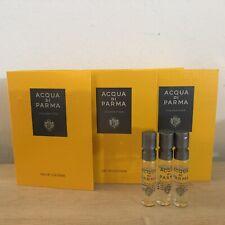 3x Acqua Di Parma Colonia Pura Eau De Cologne Sample 0.05oz/1.5ml New
