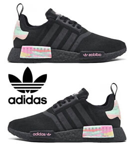 Adidas Originals NMD_R1 Women's Sneakers Casual Shoes Running Black Pink