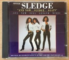 Sister Sledge - And Now ... Sledge ... Again - 8 Full Length Mixes VGC CD Album