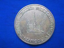 Zamosc Medal XXXV lat MO i SB w Sluzbie Narodu