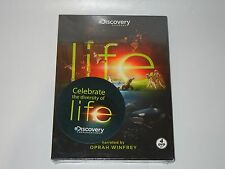 DISCOVERY CHANNEL LIFE 4 DVD SET NEW SEALED NARRATED BY OPRAH WINFREY