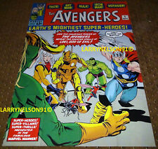 AVENGERS #1 POSTER NO SURRENDER MARVEL UNIVERSE BLACK PANTHER SPIDER-MAN HULK CA