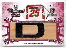 16/17 ITG Stickwork Enshrined Red #ES13 Joe Nieuwendyk Jumbo Stick Relic #4/5