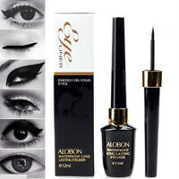 1 x Top Liquid Eyeliner Waterproof Eye Liner Pencil Pen Black Make Up Set 12m PF