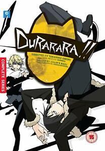 Sealed Durarara!! Season 1 6 Disc DVD Set Eps 1-24 Japanese Anime UK R2