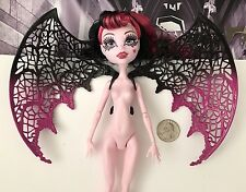 Monster High Ghouls Rule DRACULAURA Doll Bat WINGS ONLY - for Replacement NEW