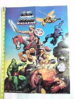 VINTAGE MASTERS OF THE UNIVERSE POSTER HE-MAN STRIDOR HORSE RIDE! Earl Norem