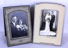 Antique Wedding Studio Photo Anniversary Marriage Fred Lhotke Sebek Studio Lot 2