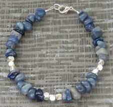 Semi Precious Stone Sodalite Bracelet
