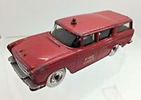 Vintage Dinky Toys 257 Nash Rambler Canadian Fire Chief's Car