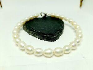 UK Genuine not enhanced Freshwater Pearl Bracelet