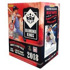 2018 Panini Donruss Diamond Kings Baseball Blaster Box