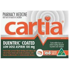 Cartia 100mg Aspirin 168 Tablets - Enteric Coated - Free Delivery!
