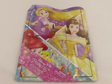 Brand New Disney Princess 12 Piece Wood Tray Puzzle