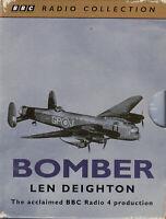 Len Deighton Bomber 4 Cassette Audio Drama BBC Radio 4 RAF WWII Mission FASTPOST