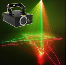 DMX 200mW RED Green RG Laser Stage Light Scanner DJ Party Show Xmas Light KTV Yc