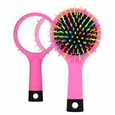 Detangling Hair Brush Rainbow Volume Anti-static Magic Hair Curl Straight M