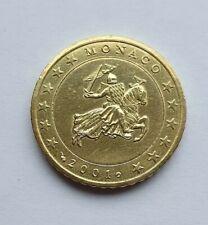 Monaco 2001 : pièce de 50 cent issue du starterkit
