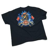 FIREFIGHTER Fireman 2-Sided KIDS T-Shirt Easy Halloween Costume S-XL