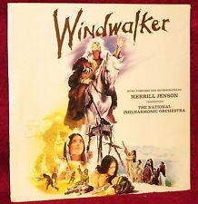 OST LP WINDWALKER MERRILL JENSON 1981 CERBERUS SEALED MINT