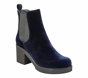 Indigo Rd. Womens Margot Closed Toe Ankle Fashion Boots, Dark Blue, Size 8.0