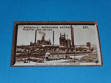 CHROMO PHOTO CHOCOLAT SUCHARD 1934 EUROPE TCHECOSLOVAQUIE MORAVSKA OSTRAVA