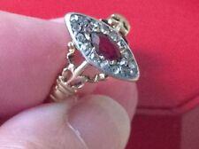 Cocktail Ruby Fine Diamond Rings