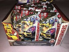 Transformers The Last Knight FULL BOX OF 24 TINY TURBO CHANGERS MYSTERY PACKS