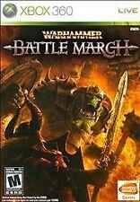 Warhammer: Battle March (Microsoft Xbox 360, 2008)-+CASE-BUT NO PAPER ARTWORK