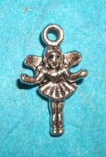 Fairy Charm Sprite Imp Elf Charm Garden Flower Charm Tooth Fairy Angel Charm