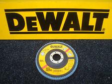 DEWALT DT3256 115MM INOX ANGLE GRINDER SANDING FLAP DISC 60GRIT