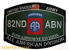US ARMY 82ND AIRBORNE DIVISION  PATCH AIR ASSUALT Parachute infantry GILIDER